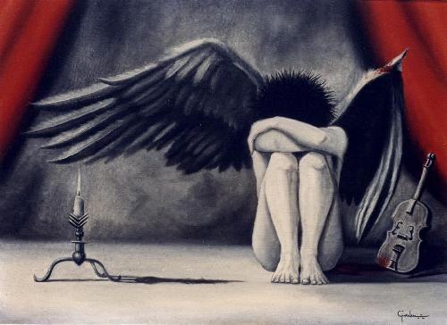 anjo-triste